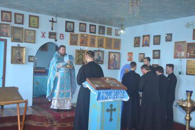 Студенты Пензенской духовной семинарии приняли участие в богослужении в исправительной колонии №7