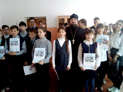В селе Степановка состоялись «Рождественские чтения»