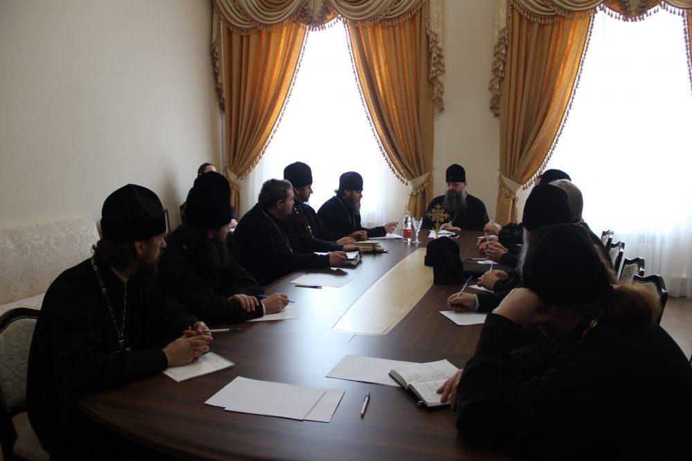 В епархиальном управлении состоялось собрание благочинных Пензенской епархии
