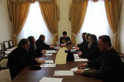 В Пензе состоялось заседание епархиального совета