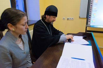 В Минске подписан договор о сотрудничестве с Пензенской духовной семинарией