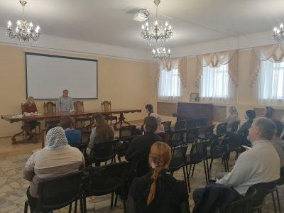Руководителям воскресных школ Пензы рассказали о православной смене в Детском оздоровительном лагере «Юность»