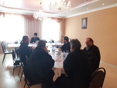 Состоялось собрание настоятелей храмов Никольского городского округа