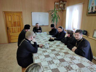 В Каменском благочинии состоялась встреча с руководителем молодежного отдела Пензенской епархии
