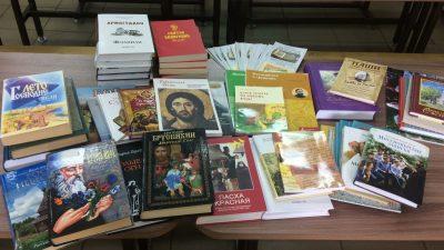 Представители православной молодежи провели акцию, направленную на распространение христианской литературы