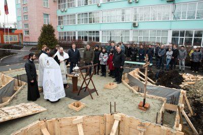 Митрополит Серафим освятил место под строительство часовни в честь Иверской иконы Божией Матери на территории Пензенского арматурного завода