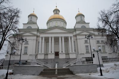 Губернатор Пензенской области Иван Белозерцев посетил Спасский кафедральный собор
