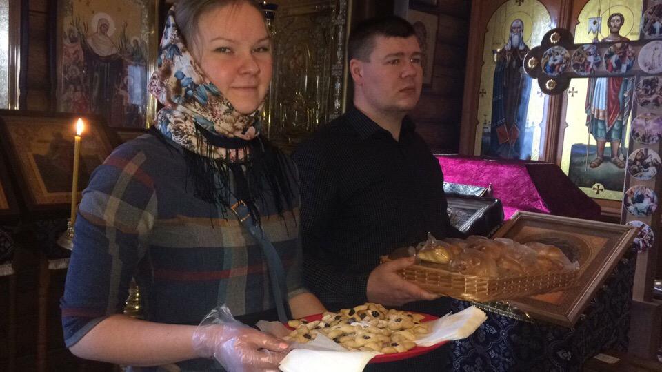 Православная молодежь поздравила прихожан Димитриевского храма Пензы с днем памяти сорока мучеников Севастийских