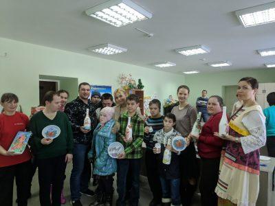 Представители православной молодежи посетили Мокшанский дом-интернат для умственно отсталых детей