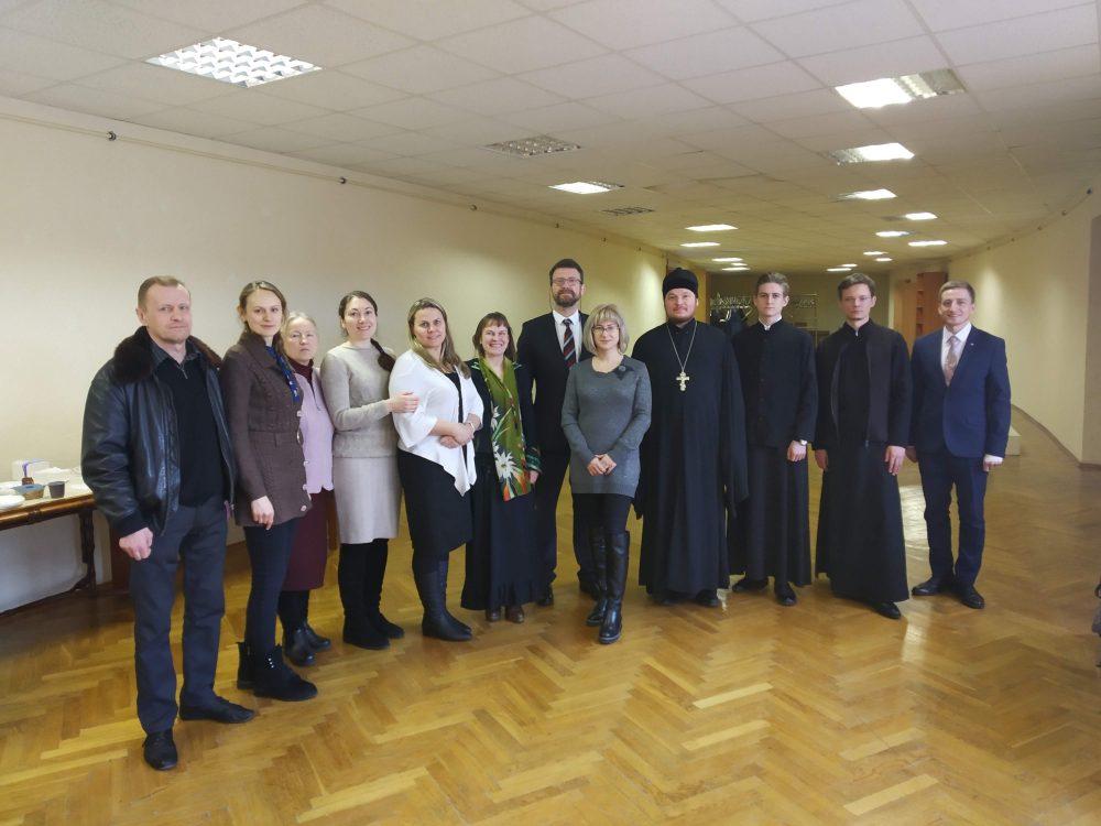 Священнослужитель Мокшанского благочиния принял участие в Международной научно-практической конференции