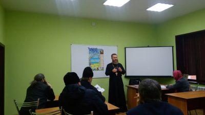 Руководитель епархиального отдела по делам молодежи встретился со священнослужителями Нижнеломовского благочиния