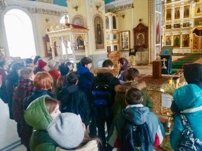 В Покровском соборе состоялась экскурсия для учащихся школы №51