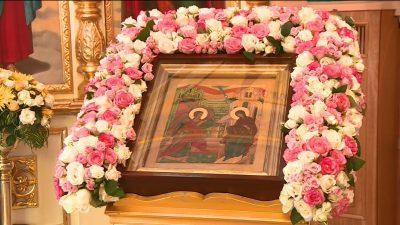 В канун Благовещения Пресвятой Богородицы митрополит Серафим совершил всенощное бдение в Благовещенском храме-крестильне