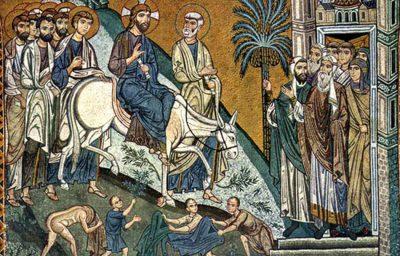 12 апреля — Вход Господень в Иерусалим