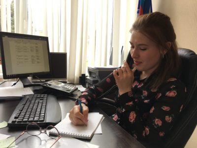 Молодежное общество «Покров» активно участвует в работе волонтерского центра по оказанию помощи гражданам