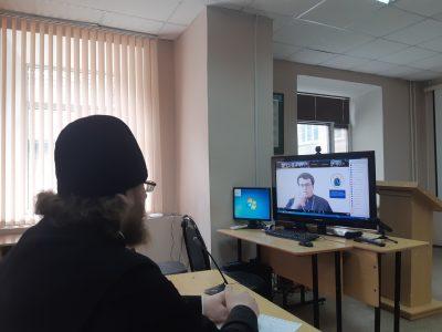 Священник Виктор Сторожев принял участие в вебинаре для духовников и атаманов Волжского казачьего войска