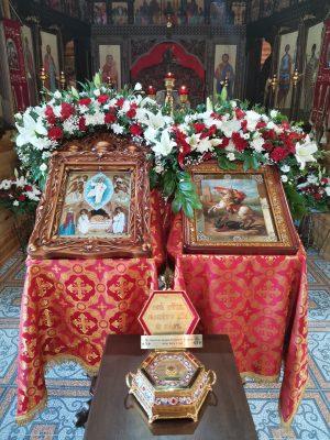 Храм Георгия Победоносца села Бессоновка отметил 10-летие со дня совершения первого богослужения