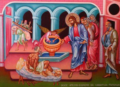 В Неделю о расслабленном митрополит Серафим совершил Литургию в скиту поселка Подлесный
