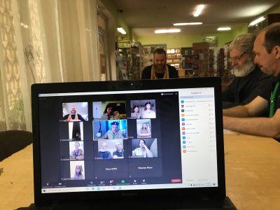 Состоялся открытый онлайн-сбор 27 отдельной группы разведчиков НОРД «Русь», посвященный памяти Евгения Родионова