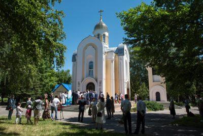 В День памяти и скорби митрополит Серафим совершил литию в храме-часовне Михаила Архангела на площади Победы