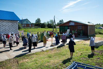 В день памяти блаженного Иоанна Кочетовского митрополит Серафим совершил Литургию в селе Кочетовка