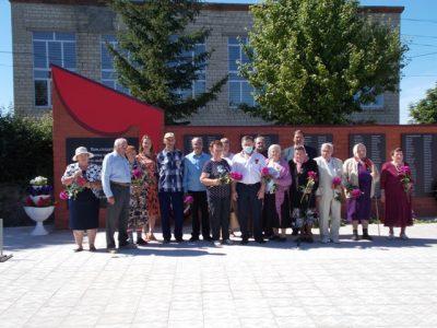 Священнослужитель принял участие в открытии памятника участникам Великой Отечественной войны в селе Русский Ишим