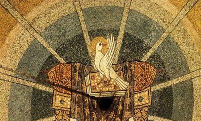 В день Святого Духа митрополит Серафим совершил Литургию в скиту поселка Подлесный