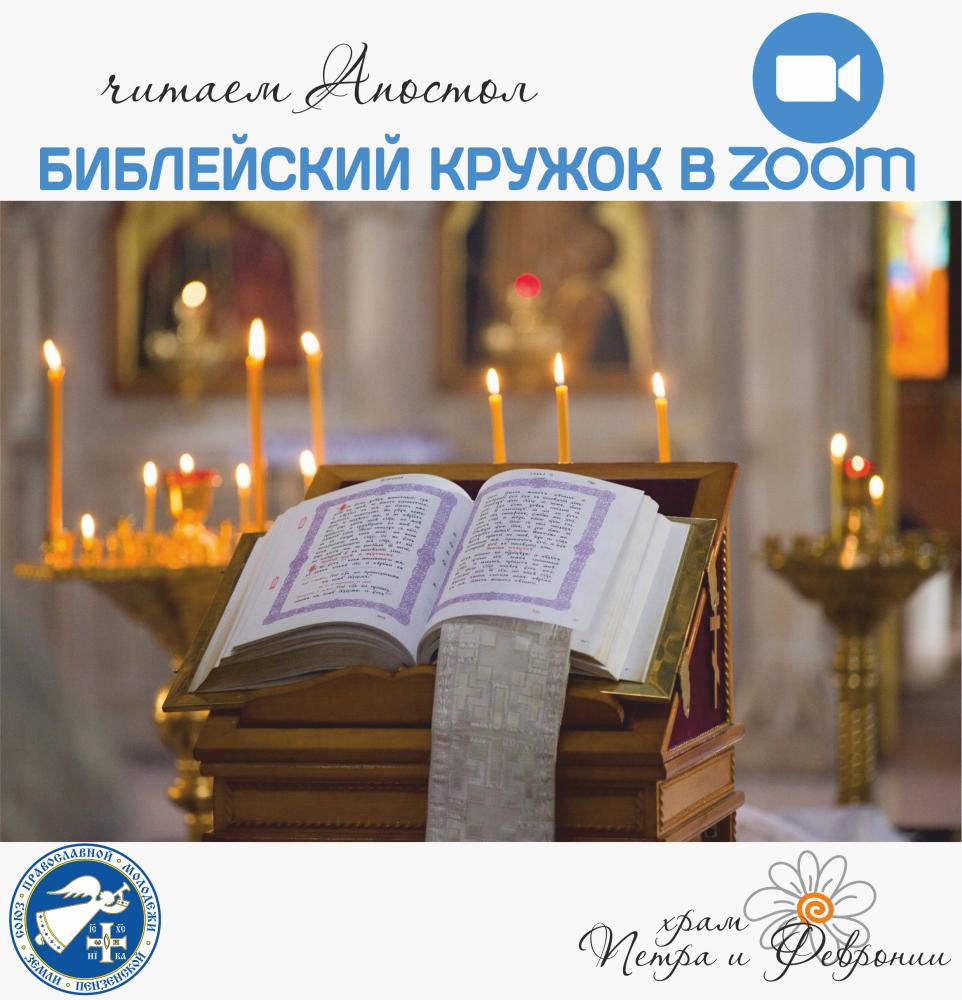 Молодежный отдел Пензенской епархии организовал проведение Библейского кружка в режиме онлайн
