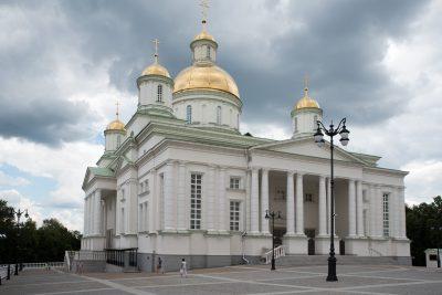 На Соборной площади восстановят Евлампиевскую церковь-усыпальницу