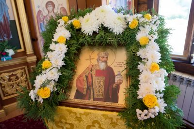 В день престольного праздника митрополит Серафим совершил Литургию в храме равноапостольного князя Владимира в Пензе
