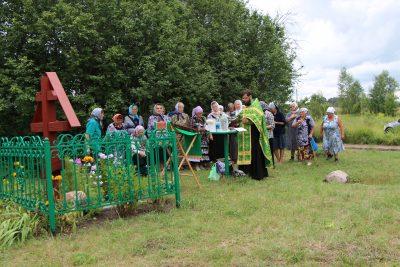 В селе Вирга почтили память преподобного Сергия Радонежского
