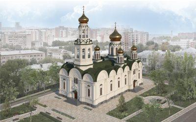 Подготовлен эскизный проект реставрации Богоявленского храма