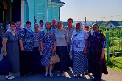 Паломники посетили Соловцовку в день памяти Иоанна Оленевского