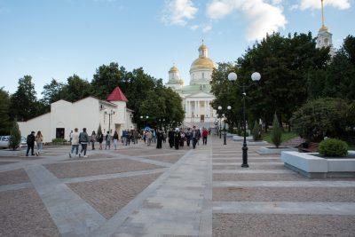 В рамках рабочего визита заместитель председателя правительства России Дмитрий Чернышенко посетил Спасский кафедральный собор