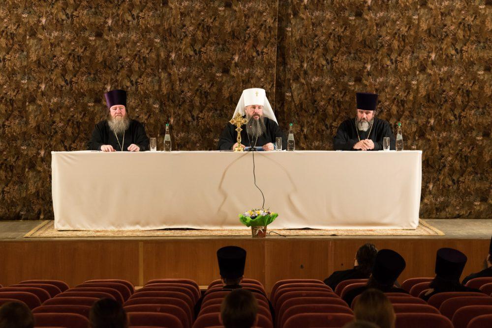 В Пензе состоялось епархиальное собрание духовенства