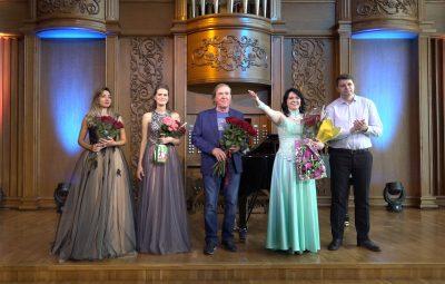 Состоялся сольный концерт художественного руководителя Семейного православного театра