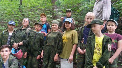 Юные краеведы из воскресной школы прошли по местам, связанным с мятежом чехословацких легионеров