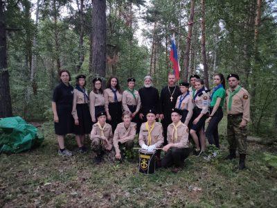 Добровольцы НОРД «Русь» прошли испытания на право получения чина разведчика 3-го разряда