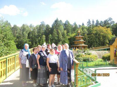 Пензенские паломники посетили село Дивеево Нижегородской области