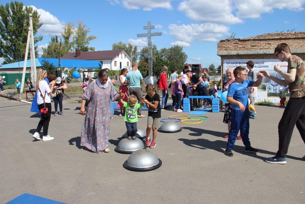 В поселке Мичуринский состоялся благотворительный спортивный праздник