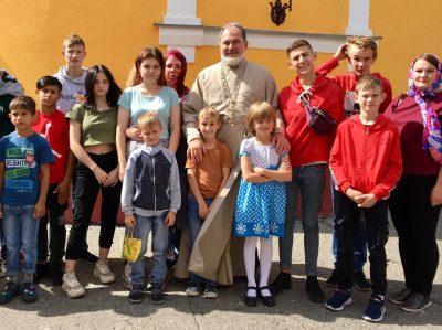 Покровский архиерейский собор посетили гости из Спасска