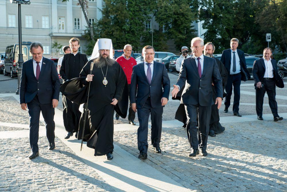 Глава Минстроя РФ посетил Спасский кафедральный собор