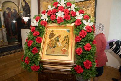 В день Усекновения главы Иоанна Предтечи митрополит Серафим совершил Литургию в Спасо-Преображенском мужском монастыре