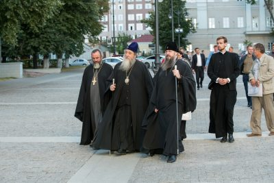 Митрополит Оренбургский и Саракташский Вениамин посетил Пензу