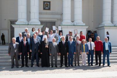 На Соборной площади состоялась торжественная церемония закрытия конкурса «Лучший по профессии»