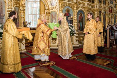 Митрополит Серафим принял поздравления с годовщиной архиерейской хиротонии