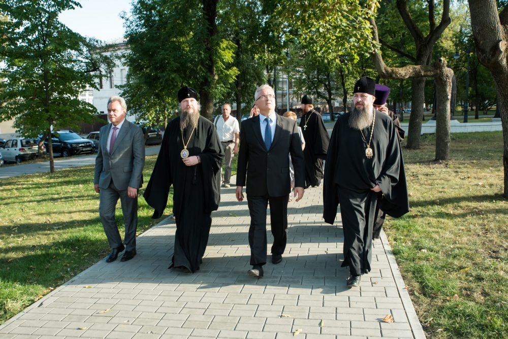 Управляющий делами Московской Патриархии митрополит Воскресенский Дионисий посетил Пензу с рабочим визитом
