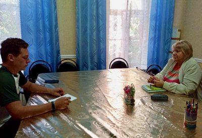 Состоялась очередная встреча молодежного клуба «Покров»