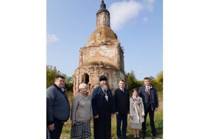 В рамках проекта «Золотое кольцо Сурского края» прошла рабочая встреча по воссозданию Успенского храма в селе Калинино