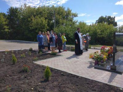 В селе Кучки почтили память погибших в годы Великой Отечественной войны односельчан